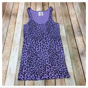 PINK Victoria's Secret Animal Print Tank - Medium